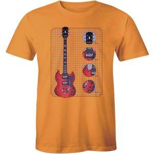 Amazing Electric Guitar Musician Music Men T-shirt